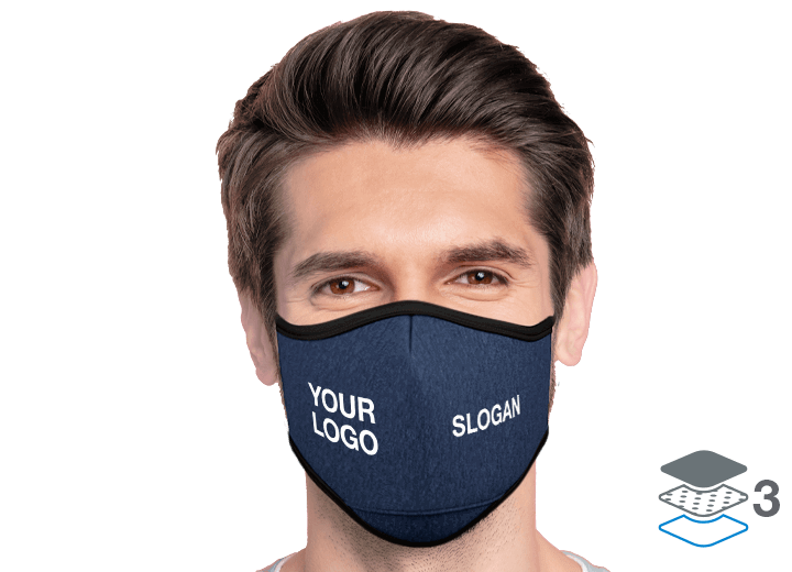 Denim - Personalised Face Mask