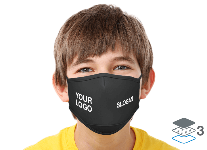 Junior - Personalised Facemasks