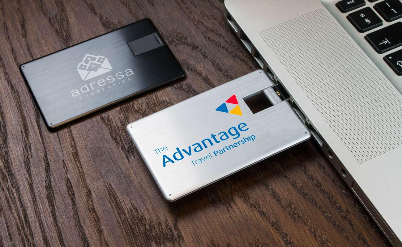 Alloy - Credit Card USB