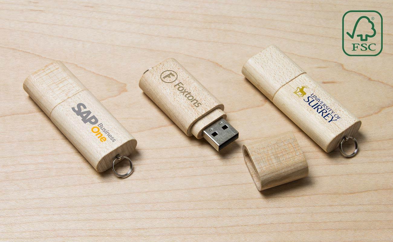 Nature - Wooden USB Sticks