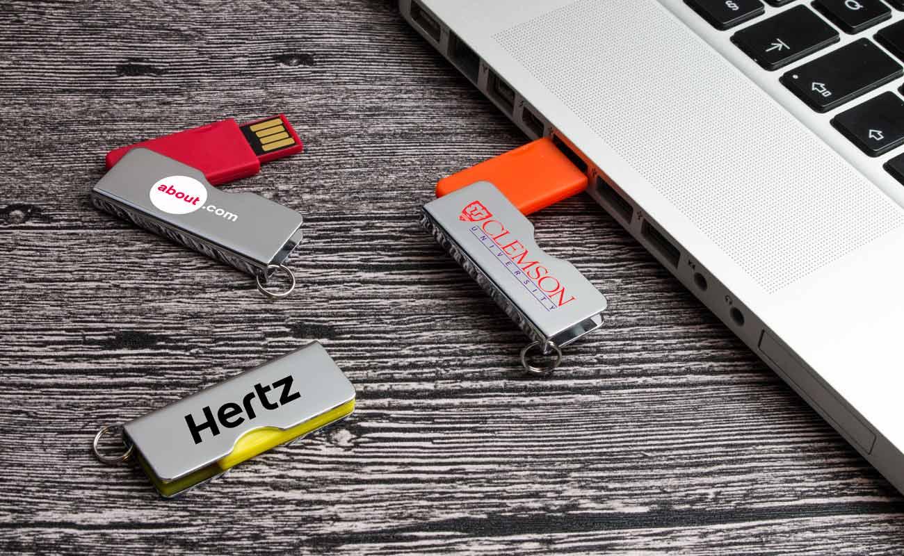 Rotator - Personalised USB